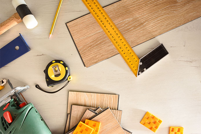 Tools for intalling floors