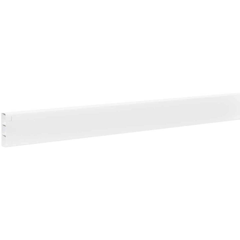Outdoor Essentials 2 In. x 6 In. x 96 In. White Vinyl Fence Rail Image 2