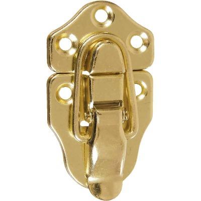 National Catalog V1848 Miniature Brass Draw Catch (2-Count)