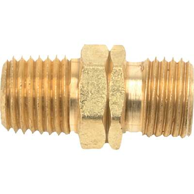 MR. HEATER 1/4 In. MPT x 9/16 In. LHMT Brass Male Pipe Fitting