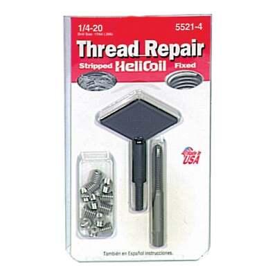 HeliCoil 1/4-20 Stainless Steel Thread Repair Kit